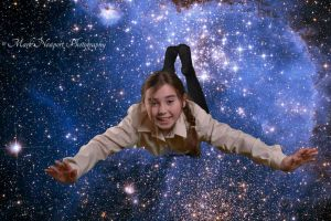 Caitlin in Space