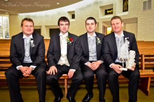 The Groom, The Best Man & The Groomsmen