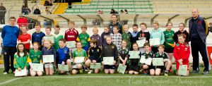 Students with Meath Football players