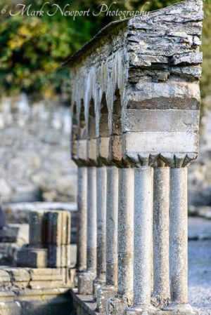 Pillars at Melifont