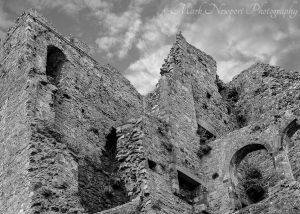 Carlingford Castle From Below