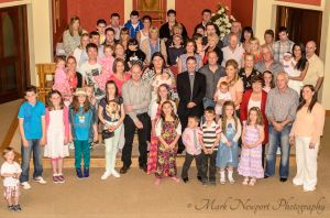 Group Photo at Zach's Christening